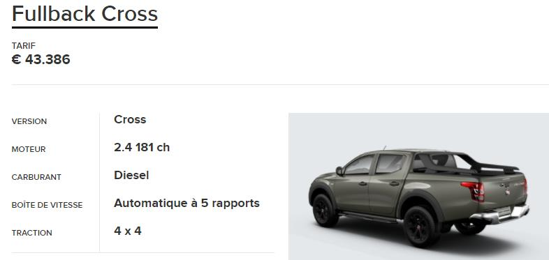 Vezi de ce modelul Fiat Fullback Cross nu are sanse de reusita in Romania! Pret incepand cu 43.000 euro