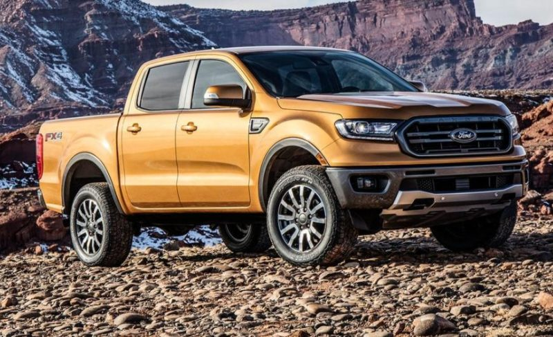 Vezi cum arata noul Ford Ranger facelift 2018 cu motor pe benzina de 280 CP