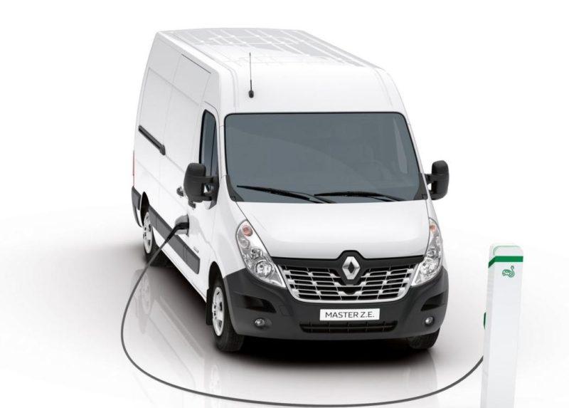Informatii noi despre noul Renault MASTER Z.E.! Autonomie reala in modul electric este de 200 km