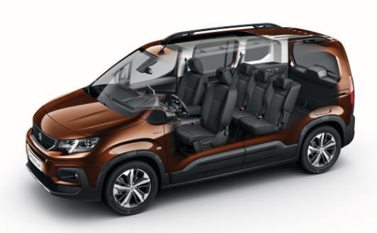 Noul Peugeot Rifter vine sa-l inlocuiasca pe vechiul Peugeot Partner