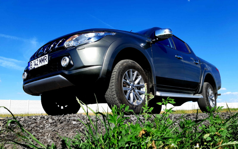Test Drive in premiera cu noul pick-up Mitsubishi L200 Double Cab Instyle 4WD 2.4 MIVEC IC/TC DI-D AT High Power 178 CP 2018