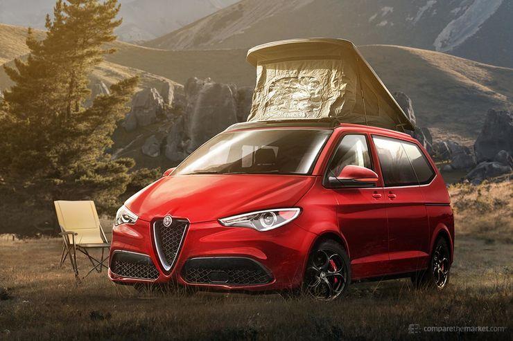 Cum ar putea arata masinile premium in versiuni utilitare cu 8 locuri? Design SUA