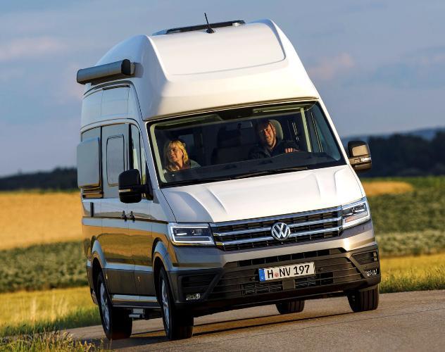 Volkswagen Autovehicule Comerciale prezinta in premiera noul model Grand California 2018