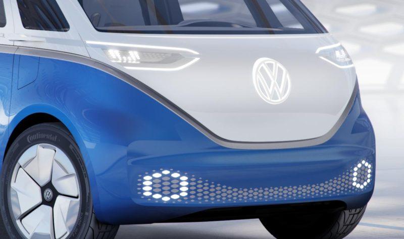VW pregateste un noul look pentru gama de utilitare! I.D. BUZZ CARGO 2018