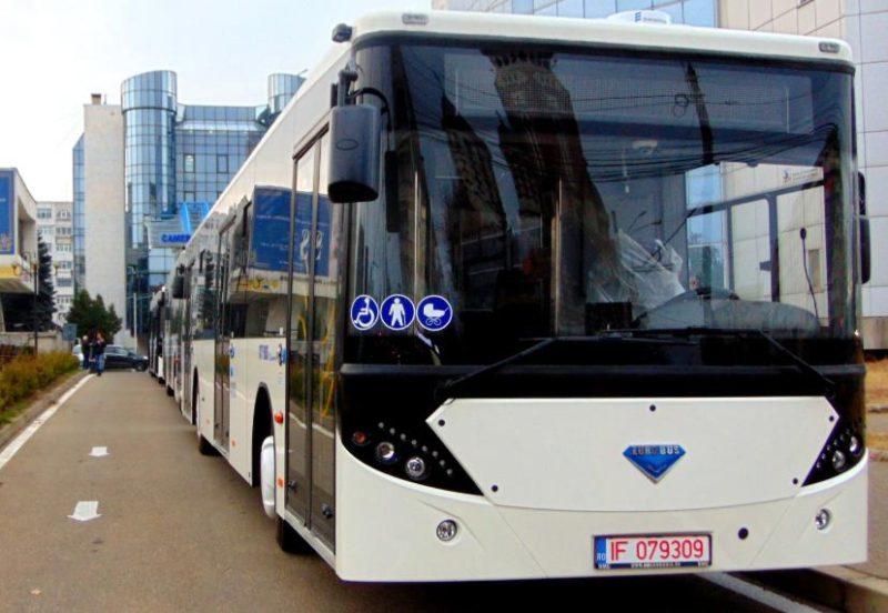 La Ploiesti au intrat in folosinta noile autobuze 100% romanesti EURO BUS Diamond-City Bus 2019
