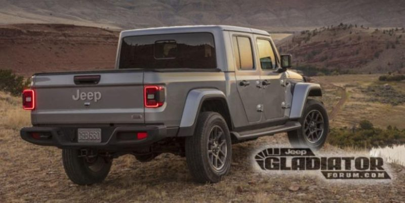 Noul Jeep Wrangler Pick-Up se numeste Jeep Gladiator 2020