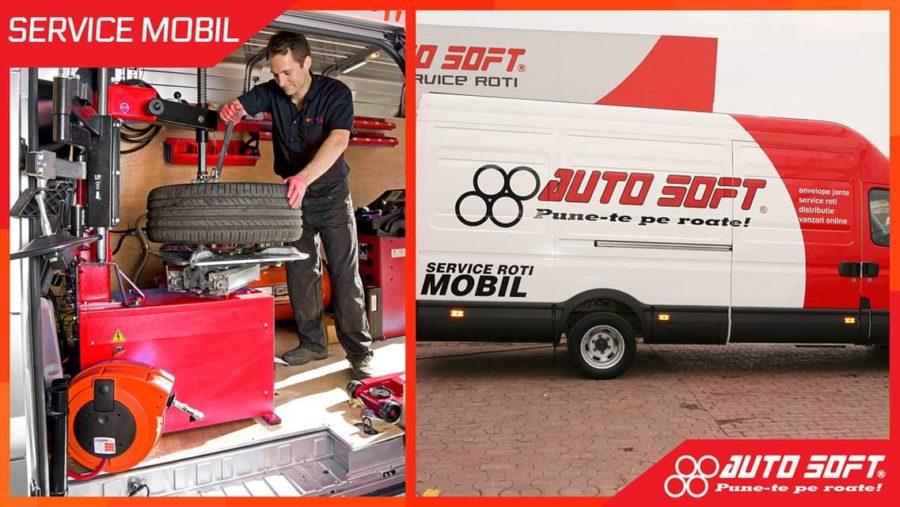 Autosoft Bucuresti ofera cel mai performant service de roti mobil pentru utilitare din Romania