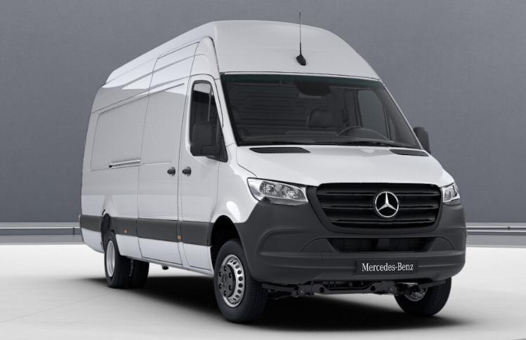 Noul Mercedes Sprinter 519 CDI 4×4 costa incepand cu 81.000 euro