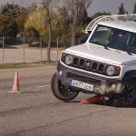 Suzuki Jimny 2019 moose test, Suzuki Jimny 2019 test elan, stabilitate Suzuki Jimny 2019 , probleme stabilitate Suzuki Jimny 2019 , comportament rutier Suzuki Jimny 2019 , km77 Suzuki Jimny 2019