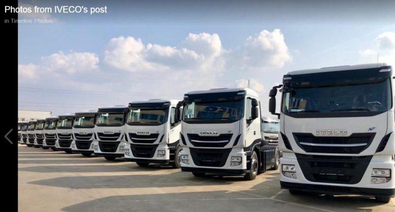 Iveco a vandut in Romania primele 10 camioane Stralis NP pe CNG care nu au unde sa fie alimentate