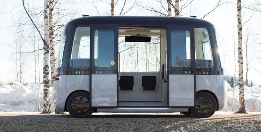 Primul autobuz robot din lume circulă cu anvelope Nokian Hakkapeliitta 2019