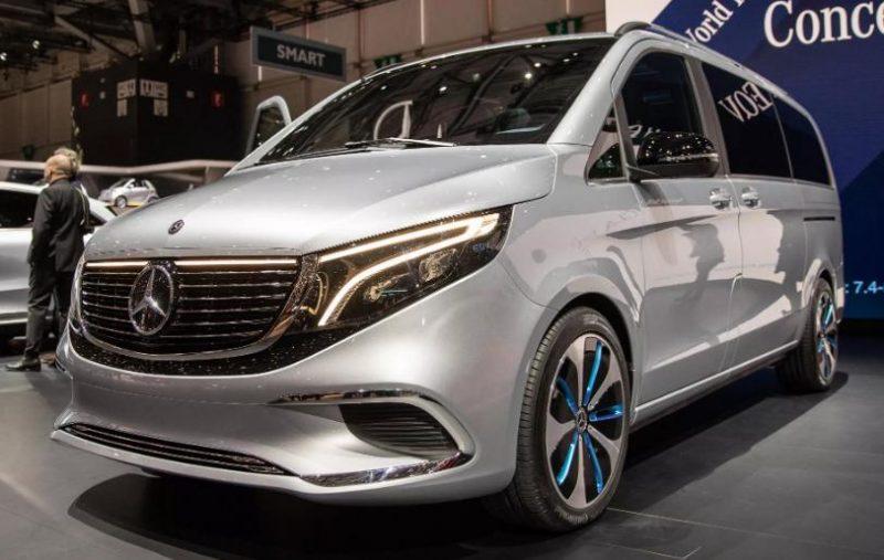 Mercedes Concept EQV se doreste sa fie un Vito electric premium