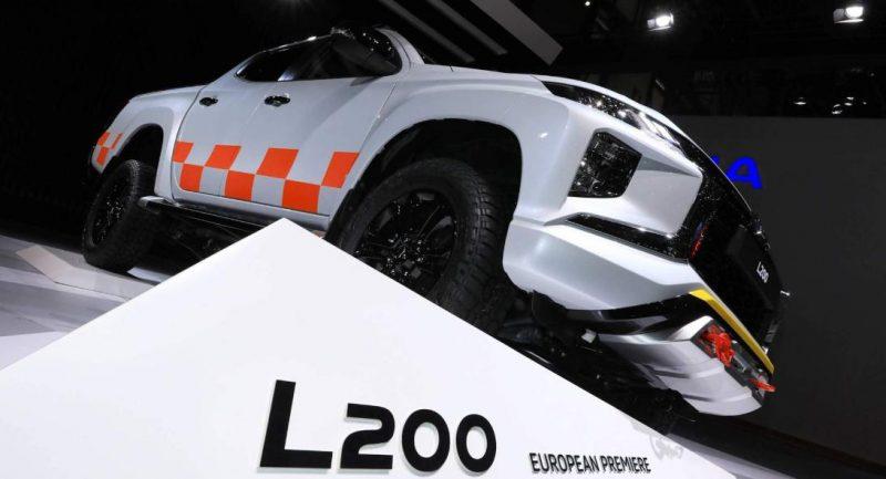 GENEVA 2019-Japonezii au lansat in premiera noul Mitsubishi L200 Fcelift 2019