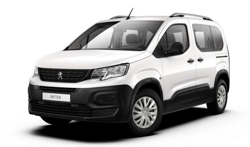 Noul Peugeot Rifter 1.5 BlueHDI 100 CP 2019 costa peste 27.000 euro in versiunea de baza