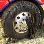 aslaft topit caldurra, pobleme camion asflat incins, aderenta tip asfalt topit, sosele topite de caldura , trafic sosea camion asflat incins