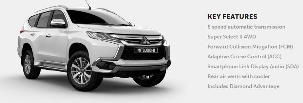 Mitsubishi Pajero Sport 2019, off road Mitsubishi Pajero Sport, mitsubishi shogun uk 2019, pret Mitsubishi Pajero Sport, test Mitsubishi Pajero Sport, cutie automata 8 trepte Mitsubishi Pajero Sport