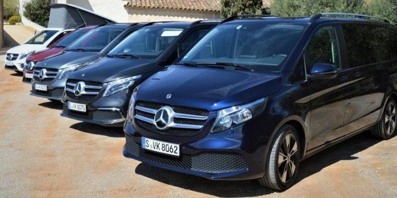 Noul Mercedes Clasa V 250 D Fascination 4MATIC  are un pret de achizitie de 78.526 euro fara dotari optionale