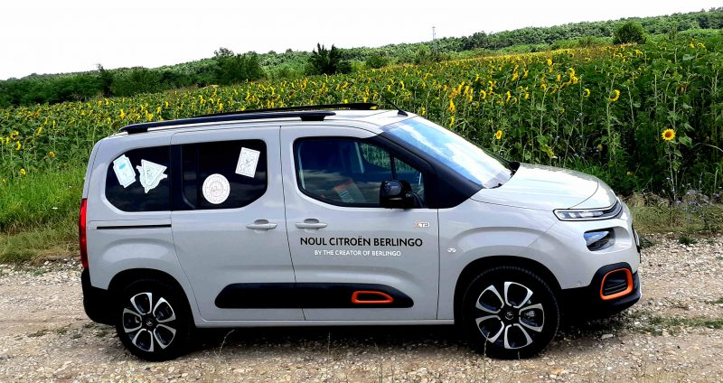 Test Drive in premiera nationala cu noul Citroen Berlingo XTR Feel 1.5 BlueHDI 130 CP 2019