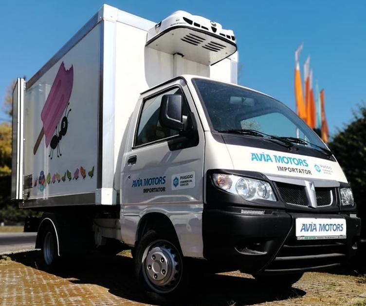 Penibil-Avia Motors vinde un Piaggio Porter Maxxi fabricat in 2016 cu 22.000 euro