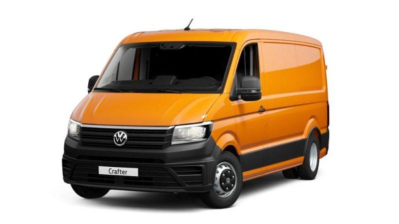Noul Volkswagen Crafter 50 MR 2.0 TDI EU6 SCR primeste cutia automata ZF8