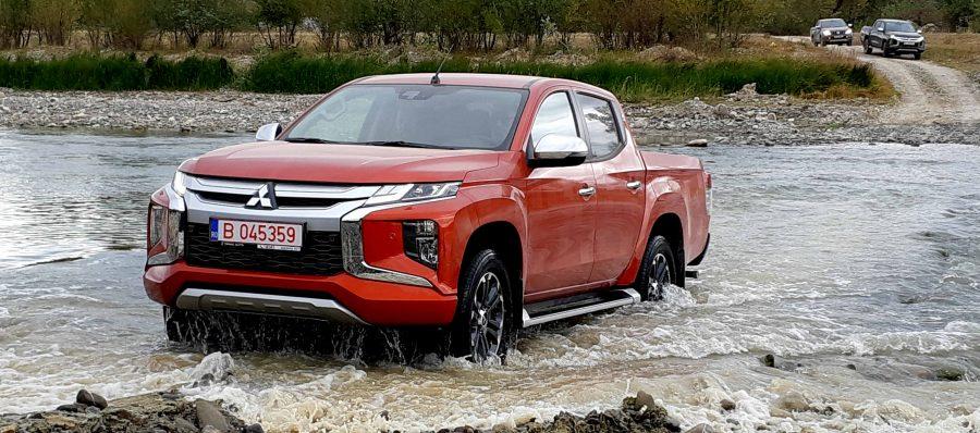 Mitsubishi lanseaza oficial in Romania noua generatie L200 2.2 DID 4N1! Pretul incepe de la 23.431 euro TVA inclus