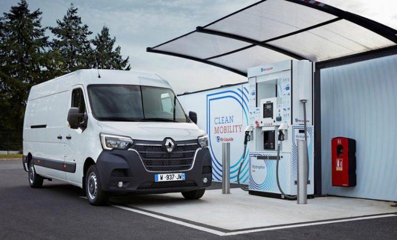Renault Comerciale lanseaza noile modele Renault Kangoo ZE Hydrogen si Master ZE Hydrogen