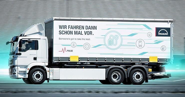 Primul camion 100% Electric  MAN TGM 18.360 E 4×2 LL merge doar 130 km