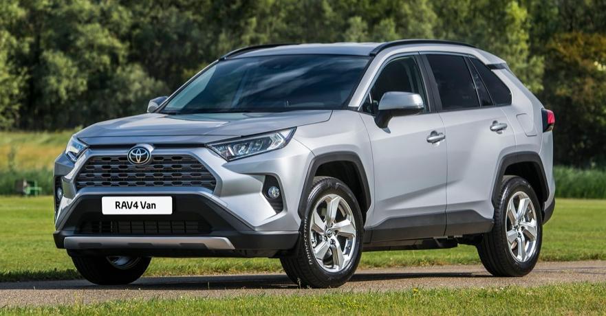 Toyota a lansat in premiera noul RAV4 VAN dedicata transportorilor