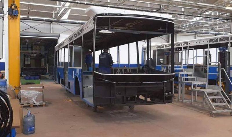 Au ajuns in Craiova primele autobuze turcesti BMC cumparate de administratia PSD