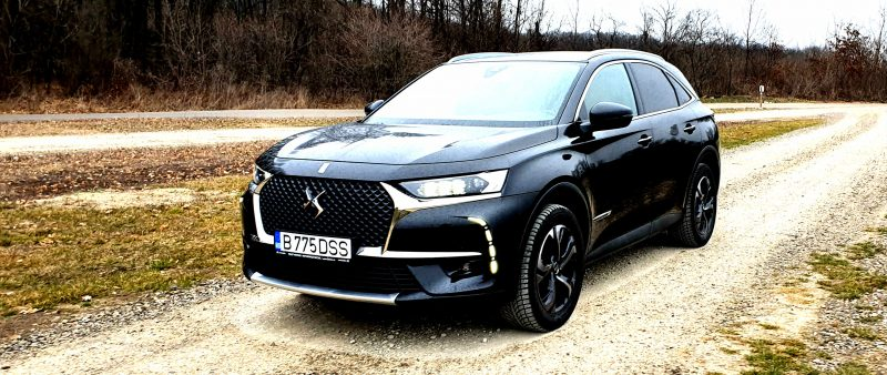 Test cu noul DS7 Crossback Grand Chic 1.6 PureTech 225 CP EAT8 Aisin 2020
