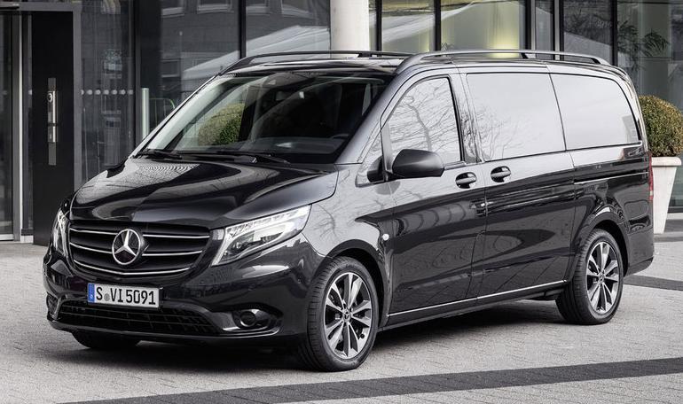 Noul Mercedes Vito de persoane costa peste 31.000 euro si nu are AC, Radio sau un motor mai mare de 100 CP