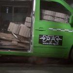 accident mercedes vito, probleme vito accident, marfa neasigurata mercedes, marfa nefixata accident, probleme sarcina in caz de accident