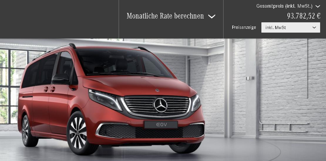 Mercedes-Benz EQV 300, test Mercedes-Benz EQV 300, probleme Mercedes-Benz EQV 300, pret Mercedes-Benz EQV 300, review Mercedes-Benz EQV 300, autonomie Mercedes-Benz EQV 300