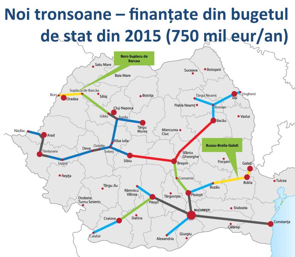 Autostrazi Romania Harta Ardusat Org